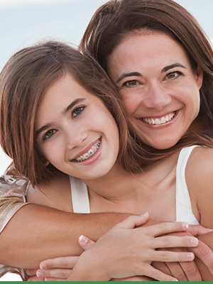 Daughter and Mom Cook Orthodontics Augusta ME